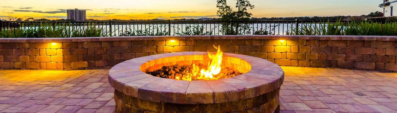 BLG Environmental Services - Fire Pit Installation in Orlando, Florida