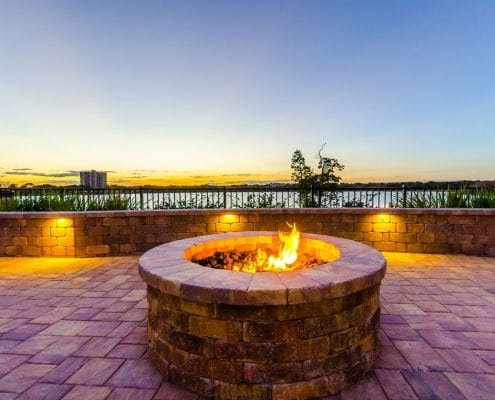 BLG Environmental Services - Fire Pit Installation in Orlando, Florida