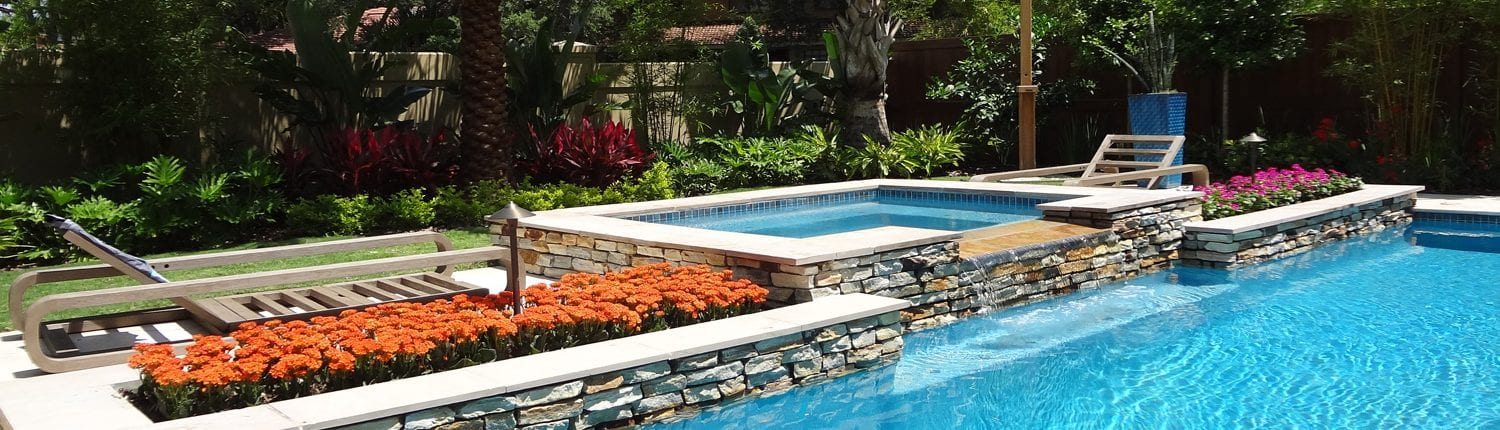Pool Landscaping and Hot Tub Landscape Designs in Orlando ...