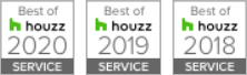 Best of Houzz 2020, 2019, 2018